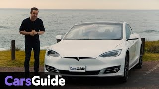 Tesla Model S P100D 2017 review | road test video