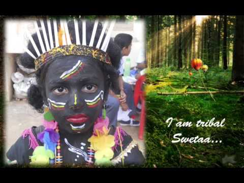 Swetaa - Tribals of India (Inter School Competition-Fashion show) - YouTube