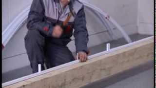 Теплицы и поликарбонат(Описан процесс производства и установки теплицы с покрытием из сотового поликарбоната., 2012-07-16T06:24:52.000Z)