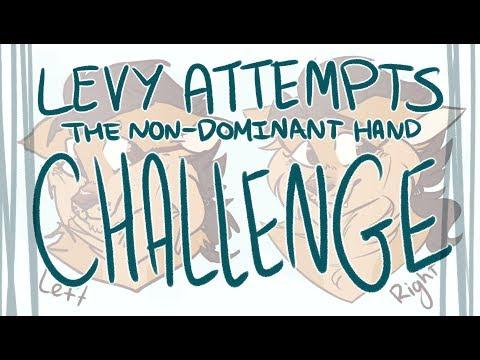 non-dominant-hand-challenge-(speedpaint)