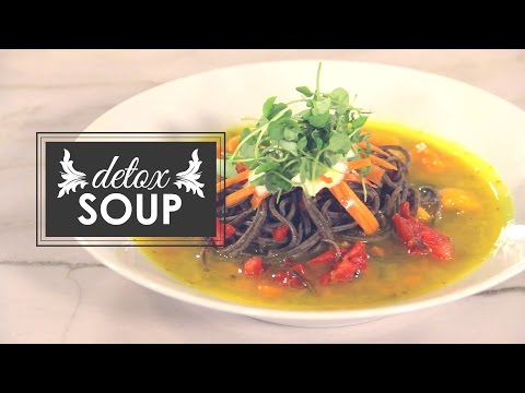 Featured Recipe: Organic Detox Soup with Chef Lester Austin