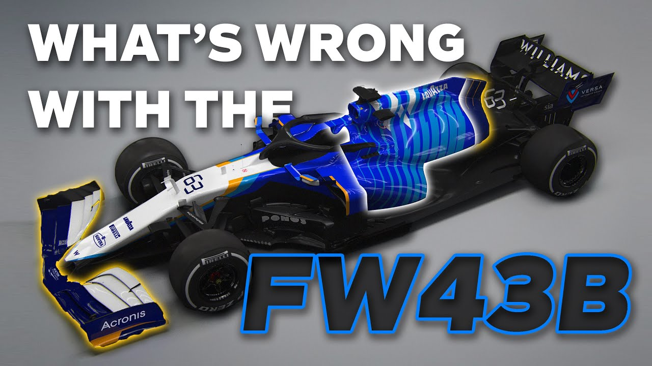 Why Does The Williams FW43B Look... Off...?