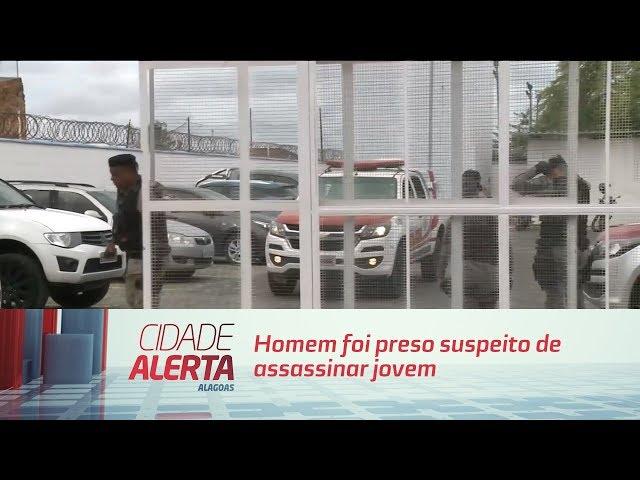Homem foi preso suspeito de assassinar jovem no Vergel do Lago