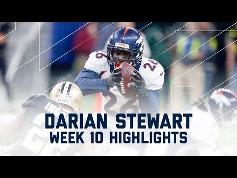 Darian Stewart Forces 3 Turnovers in Win! | | Broncos vs. Saints | NFL Week 10 Player Highlights