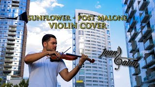 El mejor cover en VIOLIN de SUNFLOWER - POST MALONE FT SWAE LEE