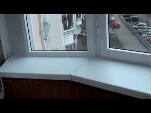 Виды остекления. Алюминиевое остекление балкона.