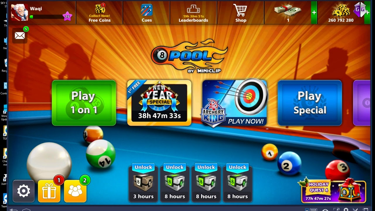 8 BALL POOL LONG LINE HACK BLUESTACKS 3 VIA GAMEGUARDIAN AND SUPERSU EASY  TO ROOT -