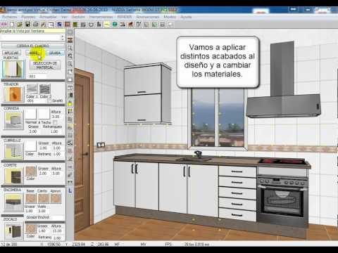 Virtualkitchen youtube for Software cocinas 3d