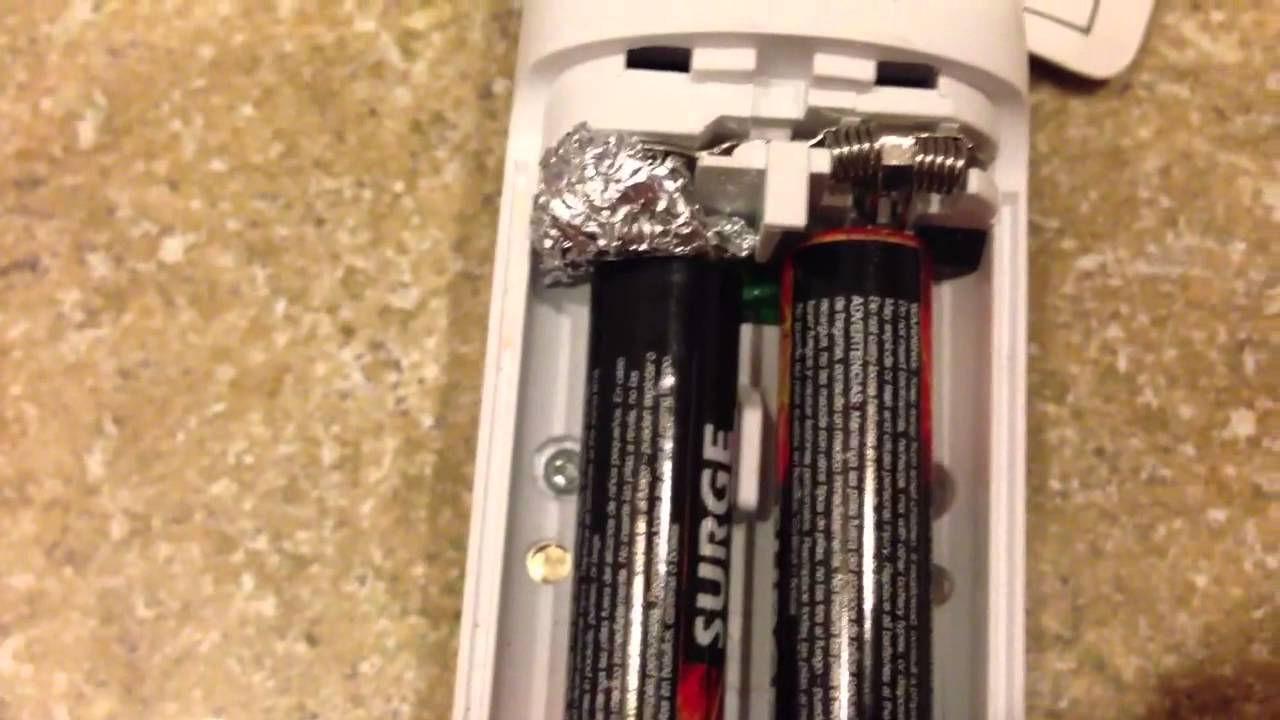 how to replace aa batteries with aaa batteries a battery trick youtube