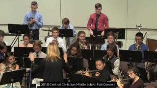 2018 Central Christian Middle School Fall Concert