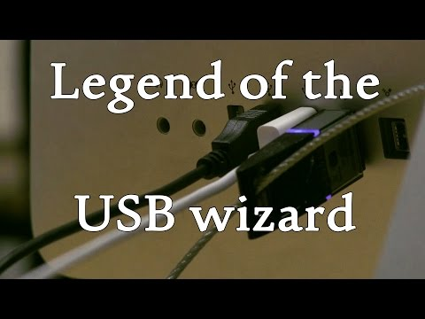 Legend of the USB wizard