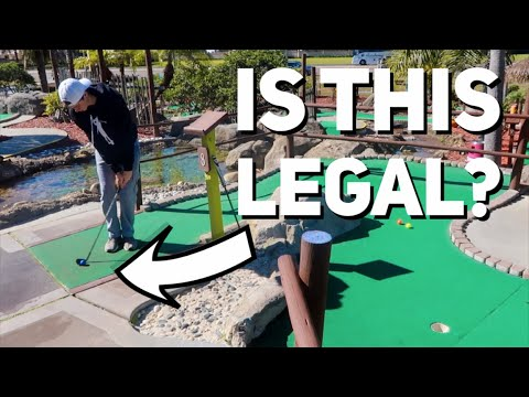 Crazy Hole In One | Mini Golf Battle Part 1 (Brodie vs. GM__Golf vs. Zac)