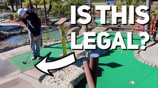 Crazy Hole In One | Mini Golf Battle Part 1 (Brodie vs. GM__Golf vs. Zac)