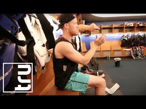 Pro Hockey Ice Training with NHL Goalie, Mike Condon | DrinkTru
