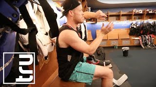 Day in the Life - How to Train on Ice like NHL Goalie Mike Condon - Presented by DrinkTru