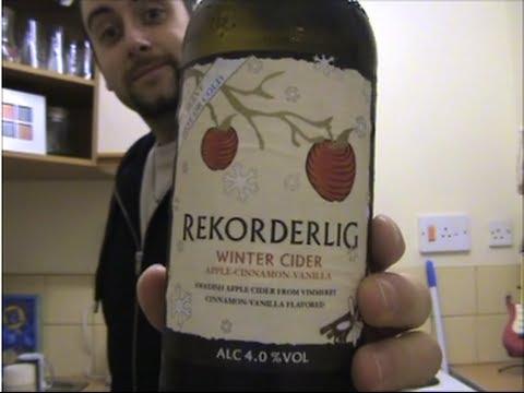 The Cider Drinker - Rekorderlig Winter Cider