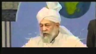Hadhrat Mirza Tahir Ahmad -- Golden Words