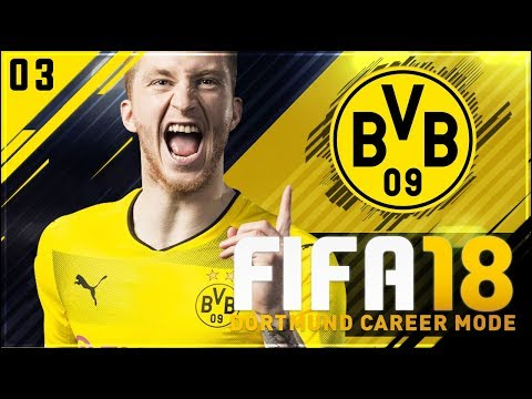 FIFA 18 Dortmund Career Mode Ep3 - NEW PLAYER & INCREDIBLE CUP FINAL!!
