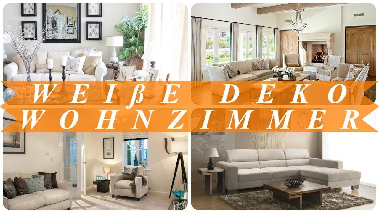 Deko Ideen Für Wohnzimmer Weiß
