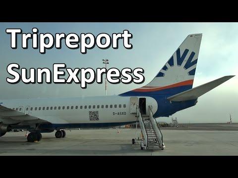 Trip Report   SunExpress Boeing 737-800   Economy   TXL - VIE