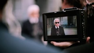 Karl Lagerfeld's Interview - Spring-Summer 2015 Ready-to-Wear CHANEL show Thumbnail