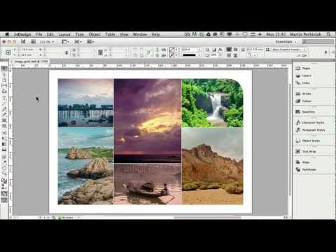 How To Create Flexible Image Grids In Adobe Indesign