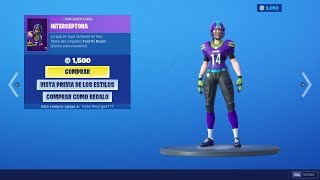 NEW FORTNITE STORE TODAY 6 SEPTEMBER! FOOTBALL SKINS RETURN