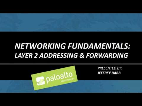 3.Networking Fundamentals: Layer 2 Addressing & Forwarding