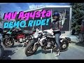 MV Agusta Dragster 800 Demo Ride