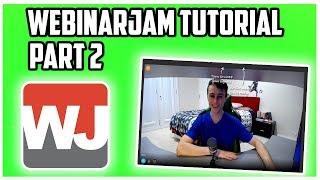 WebinarJam Tutorial & Demo | How to Fully Set Up a Webinarjam (Part Two)