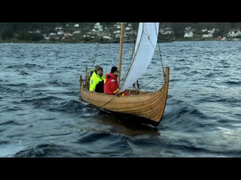 SAILING THE TEST BOATS FOR THE DRAGON HARALD FAIRHAIR - YouTube