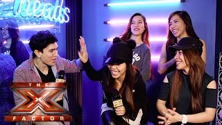 The X Factor Backstage with TalkTalk TV | Ep 36 | Luke Franks catches up with 4th Impact