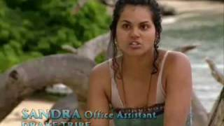 Repeat youtube video Survivor: Pearl Islands - Sandra Can Get Loud, Too! - 7x03 -