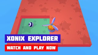 Xonix Explorer · Game · Gameplay