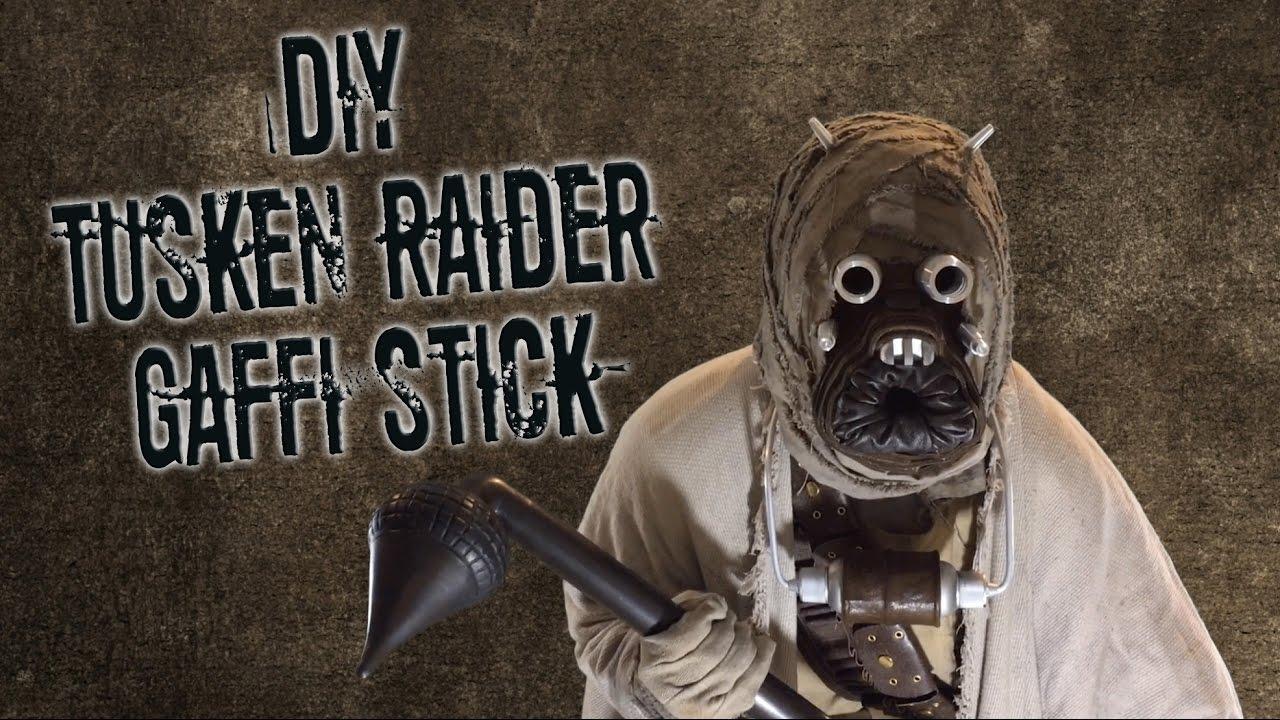 Diy Tusken Raider Gaffi Stick Youtube