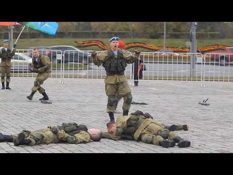 ВДВ | Показательное выступление 38-ой гвардейский полк связи воздушно-десантных войск