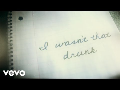 Josh Abbott Band - Wasn't That Drunk (feat. Carly Pearce) [Lyric Video]