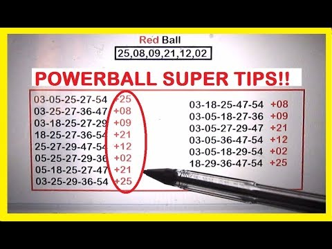 Powerball Lottery Tips Multi-State for September 2017