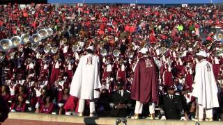 Alabama A&M University Band 2012 - Clips from the Auburn University Game