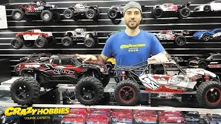 Ultimate TRAXXAS X-MAXX Size Comparison 1/5 HPI BAJA/LOSI 5IVE T & More - Just How BIG Is It