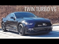 Twin Turbo V6 Mustang Car Review!-The One of a Kind Mustang!