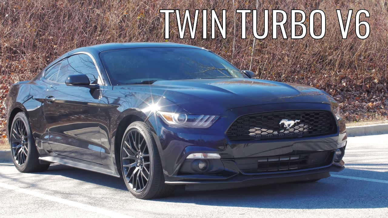 Twin turbo v6 mustang car review the one of a kind mustang