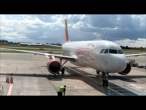 BEST LOWCOST ✈️ In EUROPE | IBERIA EXPRESS | Copenhagen To Madrid | Airbus A320 (#48)