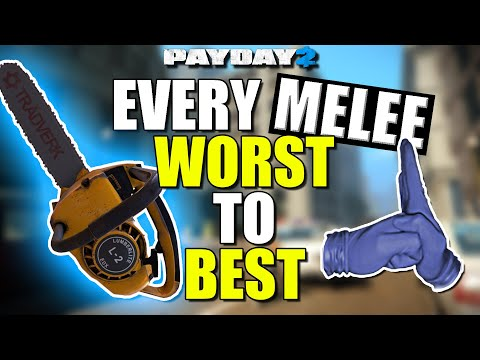 Every MELEE ranked