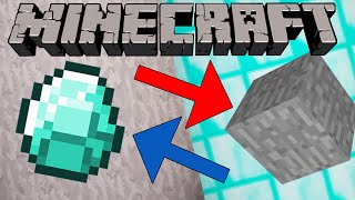 If Diamonds and Stone Switched Places - Minecraft