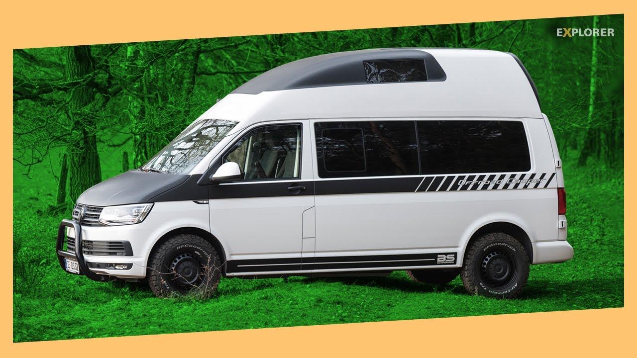 Kleiner Campingbus, viel Komfort: Ein Offroad-Bulli für die Familie 🚐