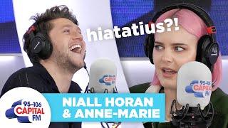 Niall Horan Can't Spell Hiatus 😐 | Anne-Marie & Niall Horan | Capital