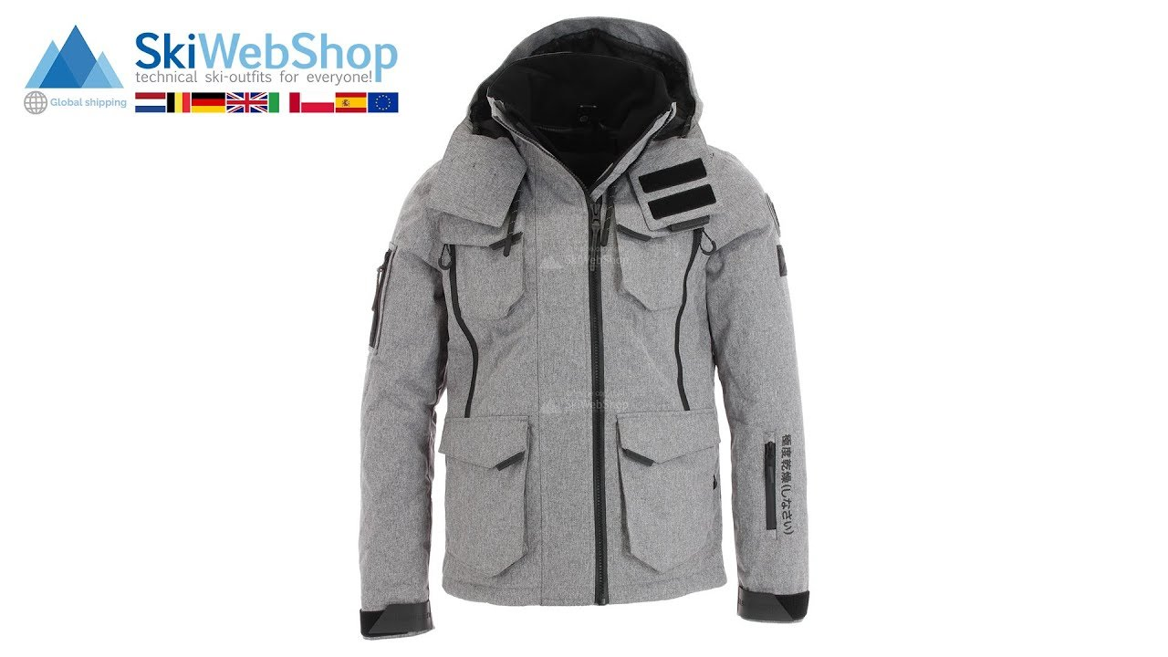7856b9e781 Superdry Ultimate Snow Action gray