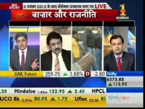 SHANKAR SHARMA in MARKETS@10 on Zee Business dated 9th DEC 1213 10:00 AM