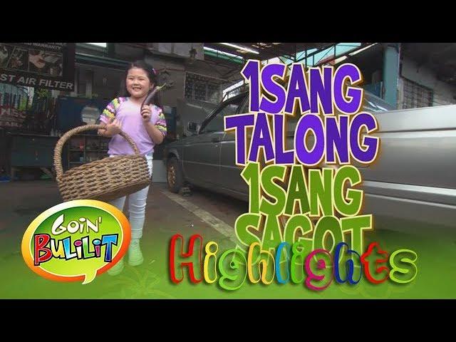 Goin' Bulilit: Chunsa interviews a car mechanic at 'Isang Talong Isang Sagot'